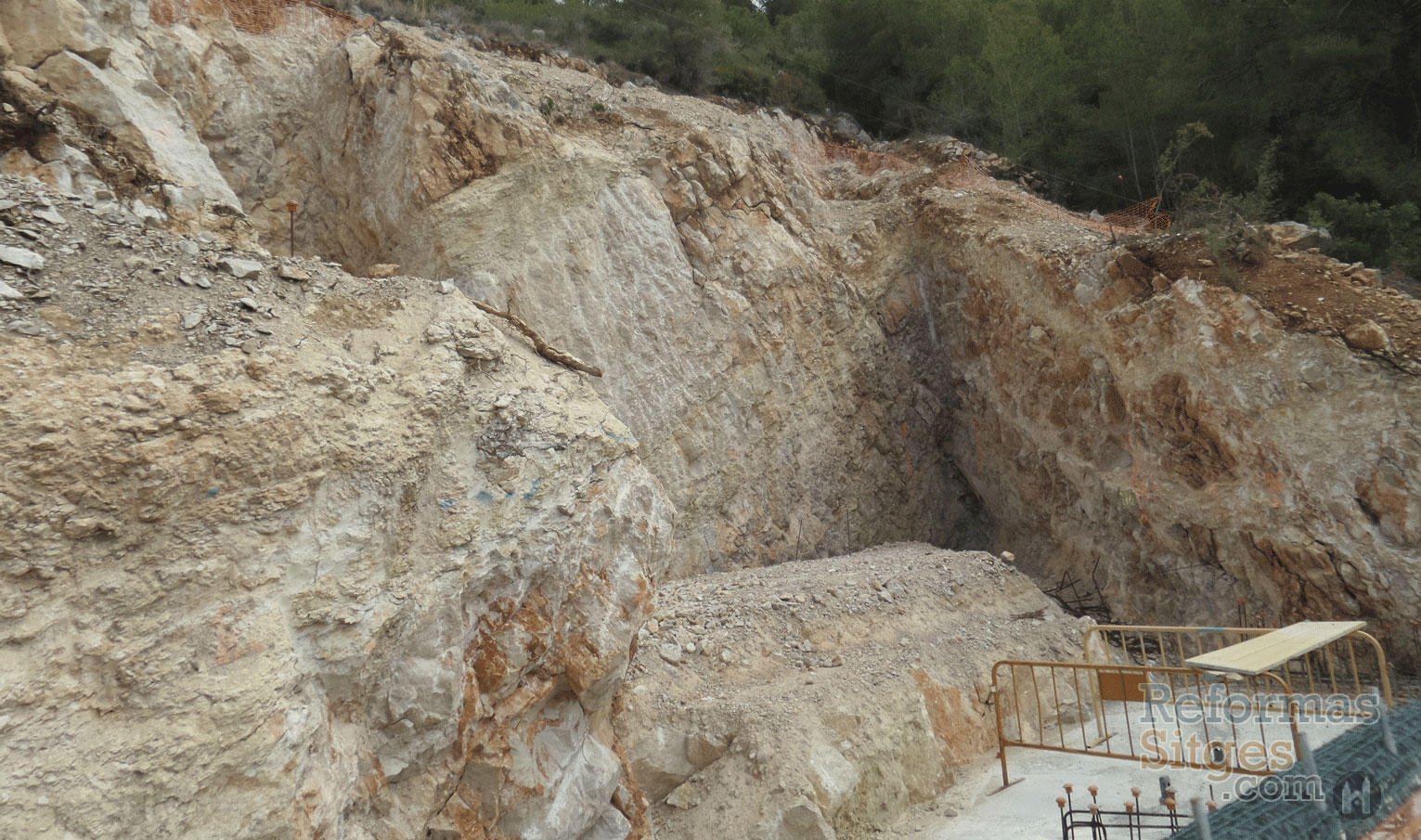 Excavation & Foundations​ - Sitges​